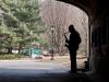 Straßenkünstler im Central Park