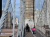auf der Brooklyn Bridge