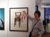 die kunstlerin Marie-Luise Quandt personlich