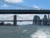 bootstour um die sudspitze manhattans - auf dem east river mit  der brooklyn bridge und manhattan bridge