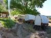 Übernachtungsmöglichkeiten - Wagon wie die Pioniere