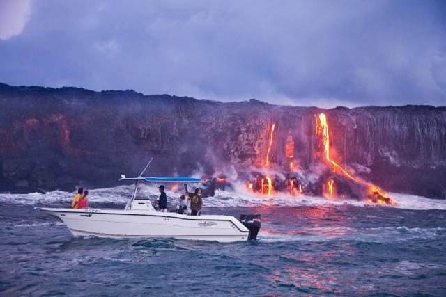 Hawaii Bike Tour To Lava