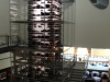 """im """"Aureole"""" - der Glas-Wein-Turm"""