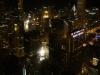 Chicago - Blick aus dem Willis Tower auf die Stadt bei Nacht
