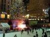 Rockefeller Center - Weihnachtsbaum mit Eislaufbahn