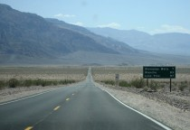 Death Valley, Richtung Stovepipe Wells