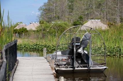 Everglades Nationalpark in Florida