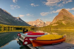 Swiftcurrent Lake, Glacier National Park, Rocky Mountains