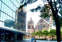Hancock Building und Trinity Church