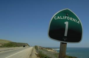 Highway No.1 Straßenschild