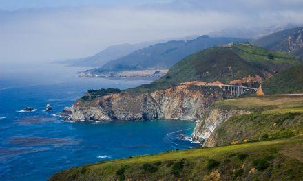 Kalifornische Küste im Westen der USA