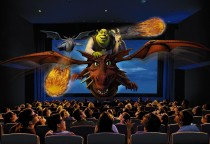 Universal Studios - die Shrek 4-D Attraktion