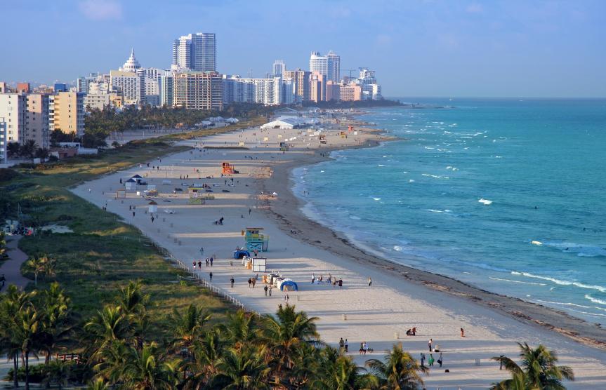 Badeurlaub Miami Beach
