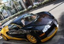 Sportwagen auf dem Rodeo Drive