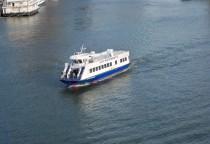 da kommt unser Boot für die Tour