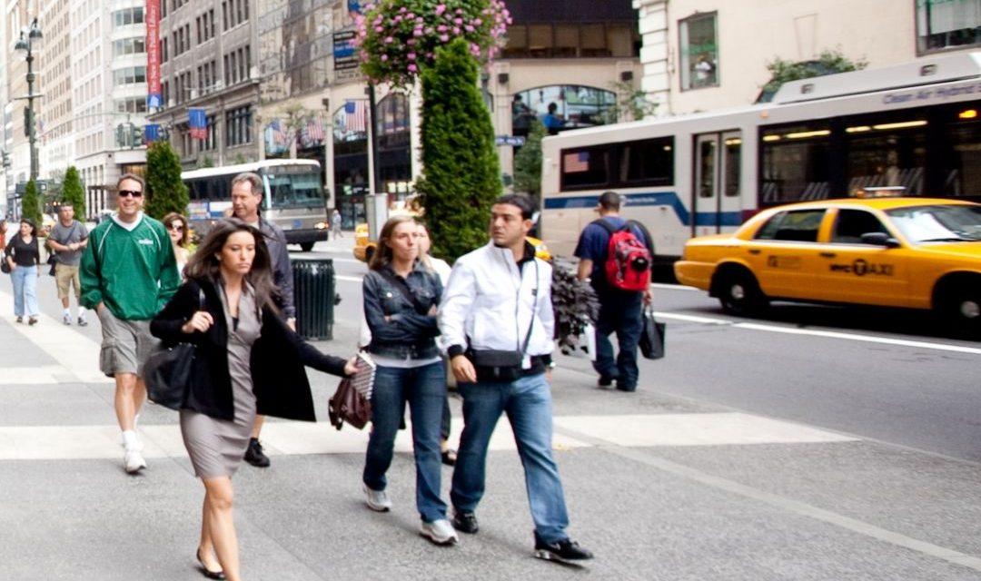 Manhattan zu Fuß