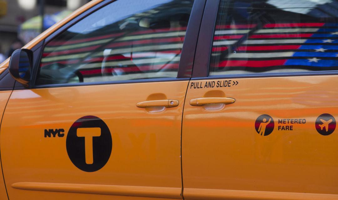 Taxifahren in Manhattan