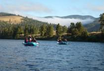 Rafting auf dem Clark Fork in Montana