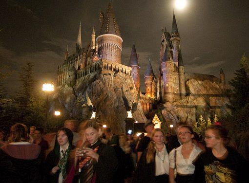 Harry Potter Welt in den Universal Studios