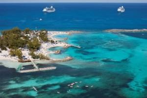 Coco Cay aus der Vogelperspektive - Berry Islands - Bahamas