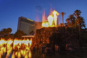 Mirage Hotel, Vulkan, Las Vegas, Strip, credit: Sam Morris/Las Vegas News Bureau