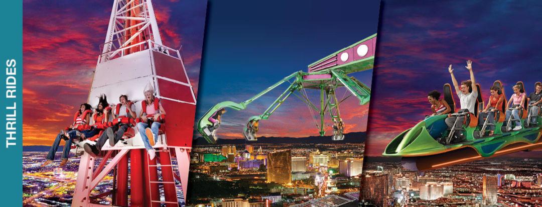 Thrill Rides, Stratosphere, Las Vegas
