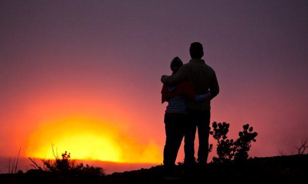 It gets hot on Hawai'i, the Big Island – Vulkan Kilauea