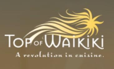 """Speisen über den Dächern von Honolulu – """"Top of Waikiki"""", das sich drehende Restaurant"""