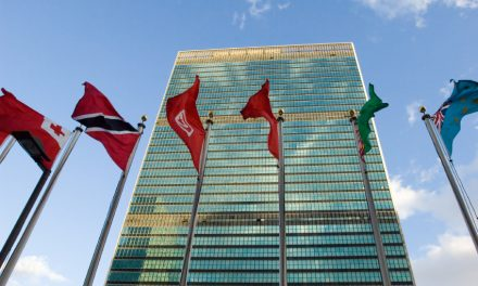 Hauptquartier der United Nations in New York