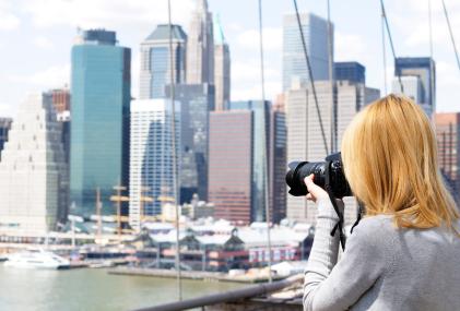in New York City an einer Foto Sightseeing Tour teilnehmen