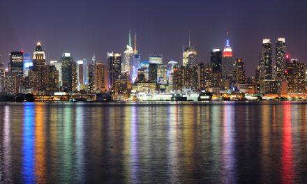 der Hamilton Park in Weehawken bietet ein unglaubliches Panorama von Manhattan