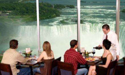 Niagarafälle zum Dinner
