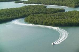 Jetski fahren zwischen den Ten Thousand Islands