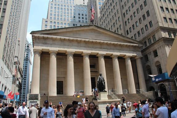 """Walking Tour im südlichen Manhattan mit """"Wall Street Walks"""""""