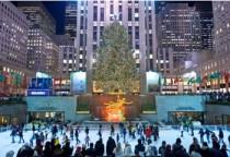 das Rockefeller Center zur Weihnachtszeit