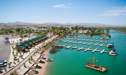 "Das ""Pirate Cove Resort"" in Südkalifornien: Die aufregende Unterkunft am Colorado River"