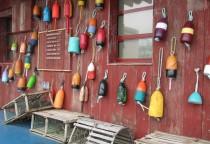 Lobster Company - bunte Bojen