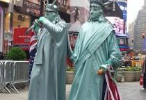 faszinierendes New York und seine Straßenkünstler