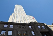 das Empire State Building - hoch gehts