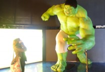 Hulk treffen in New York