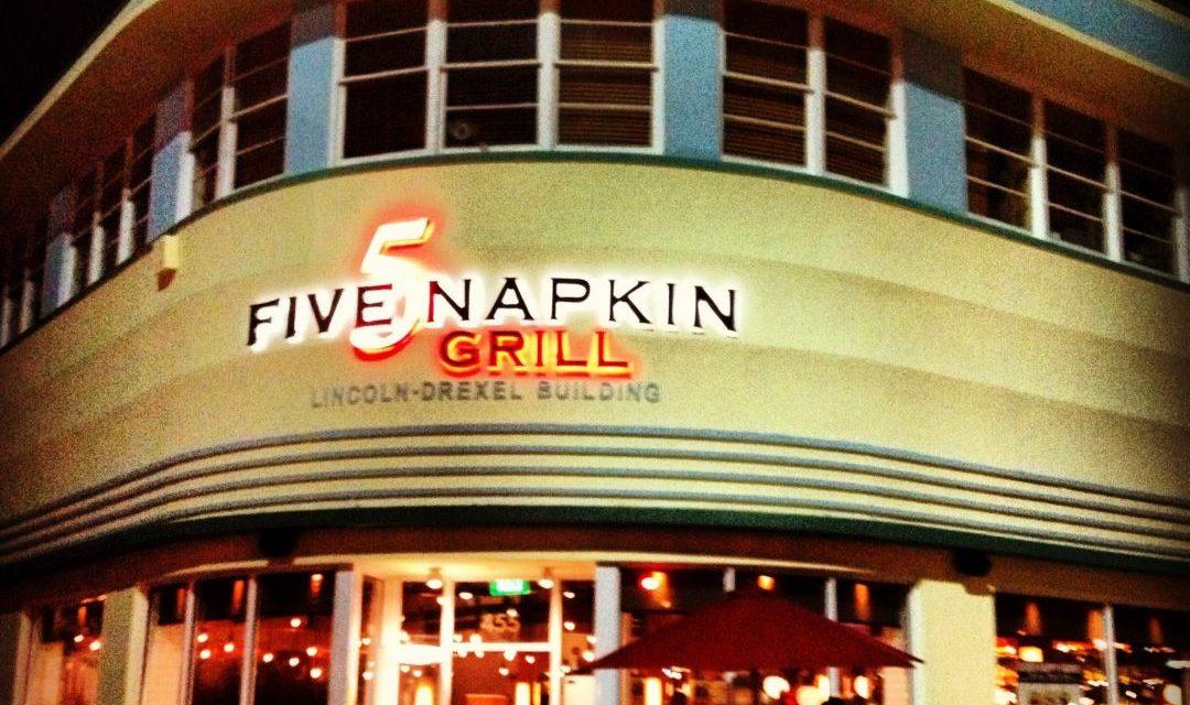 "Restaurant Tipp in Miami: ""5 Napkins Grill"" auf der Lincoln Road ..."