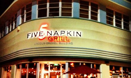 "Restaurant Tipp in Miami: ""5 Napkins Grill"" auf der Lincoln Road Mall"