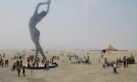 Burning Man Festival im Black Rock Desert in Nevada