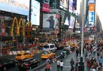 der beliebte Time Square