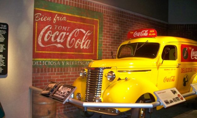 Glücksmomente in Atlanta: World of Coca Cola Museum