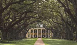 Oak Alley Plantation in Louisiana