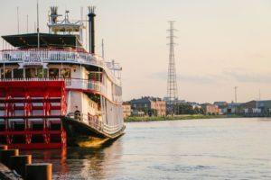 Steamboat Natchez in New Orleans, Louisiana
