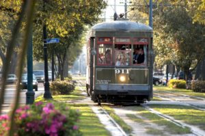 Streetcar in New Orleans, Louisiana