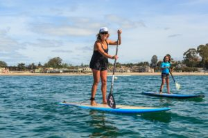 Stand Up Paddling in Capitola