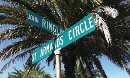 St. Armands Circle auf Lido Key – Treffpunkt von Einheimischen und Touristen